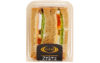 ライザップとファミマ、糖質50%低減の初・サンドイッチを発売